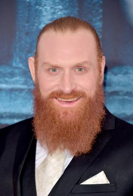 """HOLLYWOOD, CALIFORNIA - APRIL 10:  Actor Kristofer Hivju attends the premiere of HBO's """"Game Of Thrones"""" Season 6 at TCL Chinese Theatre on April 10, 2016 in Hollywood, California.  (Photo by Alberto E. Rodriguez/Getty Images)"""