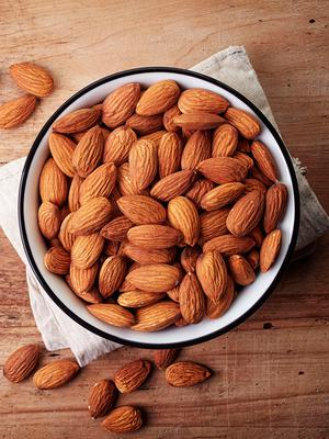 Energy boosters: almonds are loaded with good nutrition