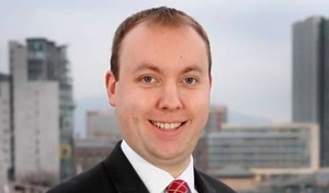 Positive news: Conor Lambe says vaccines have boosted consumer confidence