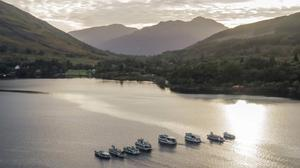 LOCH LOMOND: Heidi and Stuart Cordner have reopened self-catering properties and cruises.