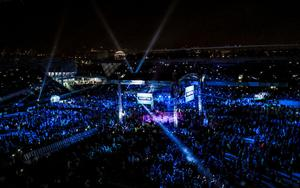 Windsor Park was packed with 23,000 fans when Carl Frampton beat Luke Jackson in 2018.