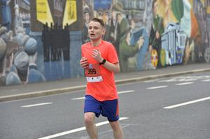 7th May 2018 37th Deep RiverRock Belfast City Marathon  Ryan Maguire pictured at the marathon  Mandatory Credit ©Presseye/Stephen Hamilton