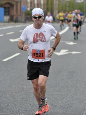7th May 2018 37th Deep RiverRock Belfast City Marathon  Farnan Rushe  pictured at the marathon  Mandatory Credit ©Presseye/Stephen Hamilton