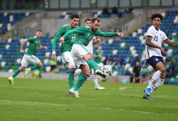 Niall McGinn's stunning goal was one of the bright points to take away from defeat to USA.