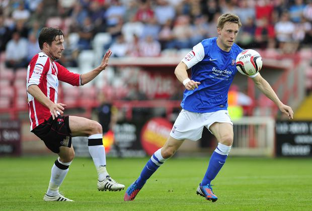Daniel Parslow (right) was forced to retire as a result of a concussion (PA Wire)