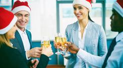 You should act at the office Christmas party as if you are still in work