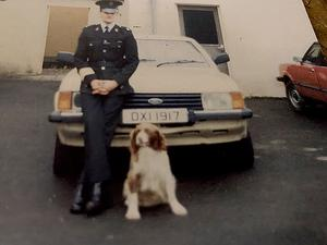 William Clegg, during his time in the RUC
