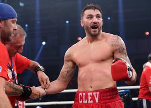 Bring it on: Nathan Cleverly is relishing the big occasion