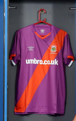 The new Linfield away kit.