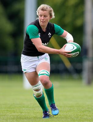New challenge: Openside flanker Claire Molloy will lead Ireland from the front at this year's Women's Rugby World Cup