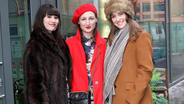 Mandatory Credit - Picture by Freddie Parkinson © Thursday 31 January 2019 Launch of Fashion Week 2019 at Panama Cafe 3 McClintock Street Belfast. Rebecca Henderson, Katherine Farries and Jenny Craig