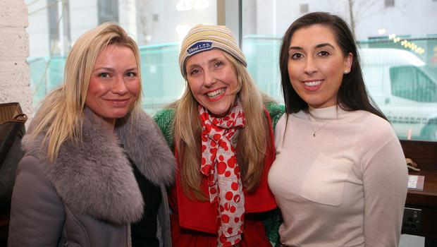Mandatory Credit - Picture by Freddie Parkinson © Thursday 31 January 2019 Launch of Fashion Week 2019 at Panama Cafe 3 McClintock Street Belfast. Joanne Beattie, Calra Hedgcock and Zara Lyttle