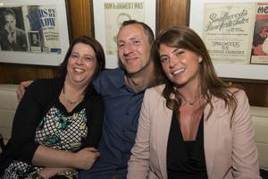 The Cloth Ear blues festival pictured Denise McCarthy, Gerard Ryan and Lisa Kennedy