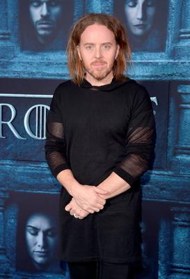 """HOLLYWOOD, CALIFORNIA - APRIL 10:  Comedian Tim Minchin attends the premiere of HBO's """"Game Of Thrones"""" Season 6 at TCL Chinese Theatre on April 10, 2016 in Hollywood, California.  (Photo by Alberto E. Rodriguez/Getty Images)"""