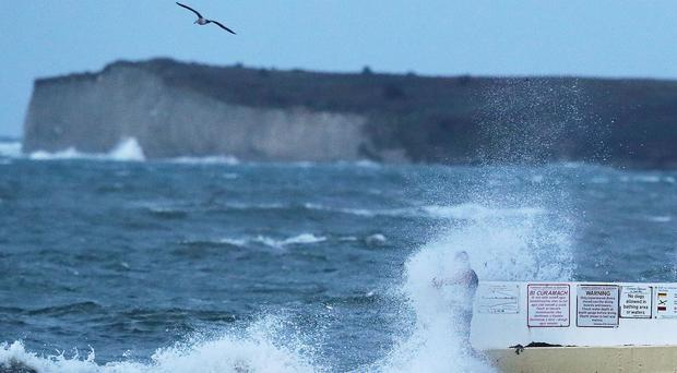 Storm Lorenzo is expected to bring wave surges (Brian Lawless/PA)