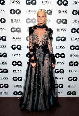 Poppy Delevingne during the GQ Men of the Year Awards 2017 held at the Tate Modern, London. PRESS ASSOCIATION Photo. Picture date: Tueday September 5th, 2017. Photo credit should read: Ian West/PA Wire