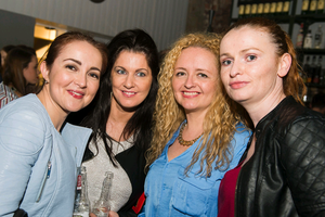 Lynn Connor, Elaine Breslin, Carol-Anne Scott and Mary Doherty at The National Grand Cafe