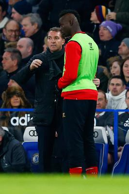 Wrong deal: Brendan Rodgers with Mario Balotelli at Liverpool