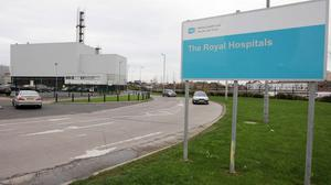 A 'major incident' was declared at Belfast's Royal Victoria Hospital on Wednesday night
