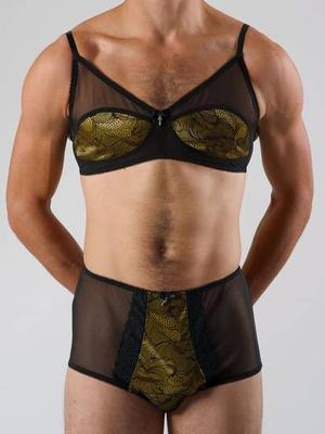 A growing number of guys are discovering the comfort of lightweight lingerie style underwear.