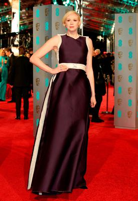 Gwendoline Christie attending the EE British Academy Film Awards at the Royal Opera House, Bow Street, London. Sunday February 14, 2016. Yui Mok/PA Wire