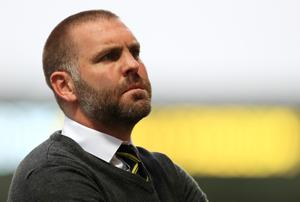 Burton manager Jake Buxton was proud of the way his players performed (Mike Egerton/PA)