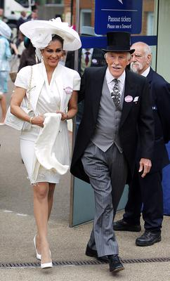Sir Bruce and Lady Forsyth during Ladies' Day of the Royal Ascot meeting at Ascot Racecourse, Berkshire. PRESS ASSOCIATION Photo. Picture date: Thursday June 20, 2013. See PA story RACING Ascot. Photo credit should read: Steve Parsons/PA Wire