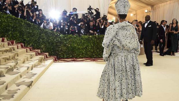 Rihanna co-chaired the glittering fundraiser (Evan Agostini/AP)