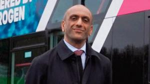 Confidence: Buta Atwal says Wrightbus is now leading the way in bus technology