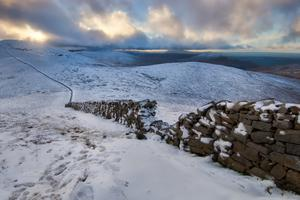 The Mourne Mountains in the snow. Pic: Steven Hylands