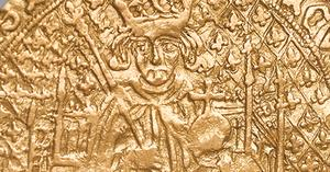 Detail of the rare coin showing Henry Tudor (Royal Mint/PA)