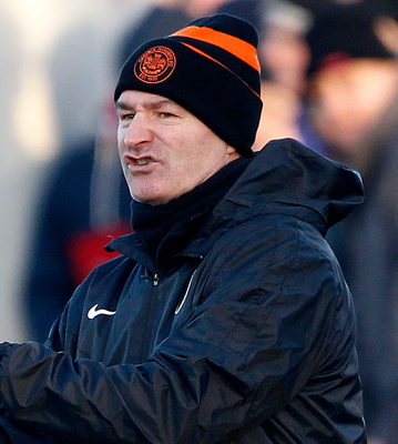"Carrick Rangers manager Aaron Callaghan: ""I'm disappointed that we conceded but I can't fault the effort of my players"""