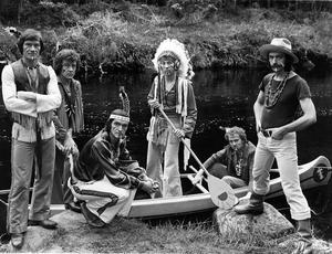 The Indians, one of Ireland's leading showbands.  14/8/1980