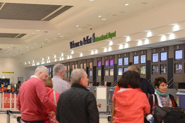 Slashing taxes could see Belfast International grow, claims MP Gregory Campbell