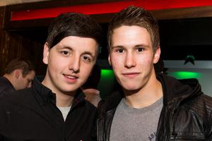Ollies Night club pictured Nathan green and Gavin Richards