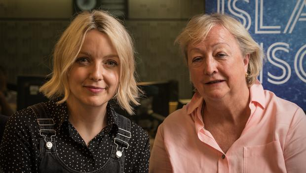 Monica McWilliams (right) recalled the day she took a gun to school (BBC Radio 4/PA)
