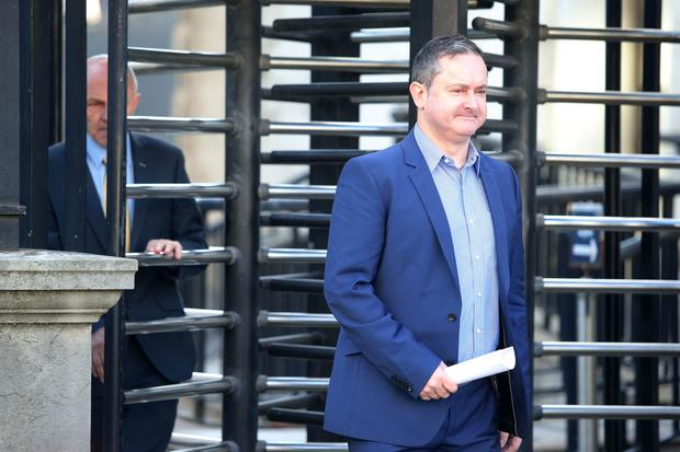 Gareth Lee pictured leaving the High Court in Belfast after the judgement was given.  Picture by Jonathan Porter/Press Eye