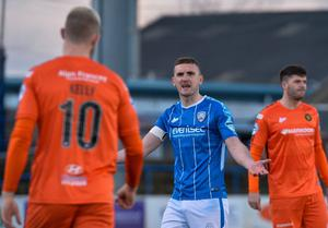 Carrick Rangers' game at home to Coleraine is subject to a pitch inspection.