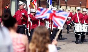 The Annual Easter Apprentice Boys' Parade made its way from Belmont Road where an act of Remembrance took place to Ormeau Embankment.