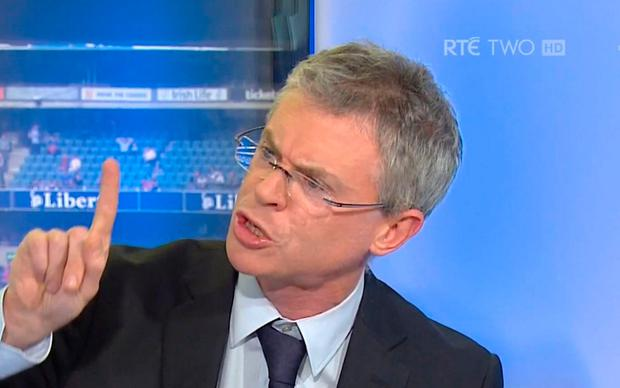 Outspoken: Joe Brolly in his former RTE pundit's role