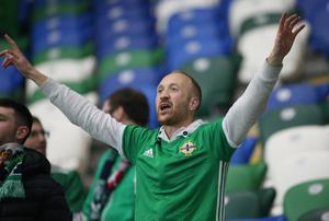 Northern Ireland fans returned to Windsor Park earlier this month.