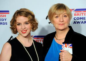 LONDON, UNITED KINGDOM - DECEMBER 16: Grace Wood and Victoria Wood attend the British Comedy Awards at Fountain Studios on December 16, 2011 in London, England. (Photo by Stuart Wilson/Getty Images)