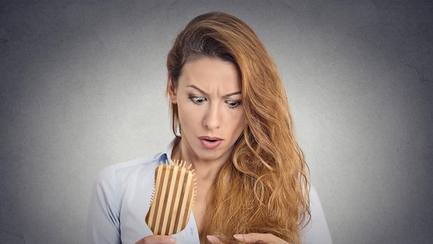 Difficult time: thinning hair can be a big concern