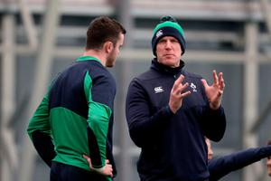 Foot in the door: Paul O'Connell was previously brought in to get a feel for the Irish backroom set-up