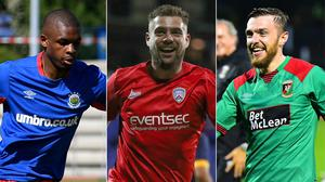 Christy Manzinga, James McLaughlin and Robbie McDaid all helped their sides to progress in Europe this summer.
