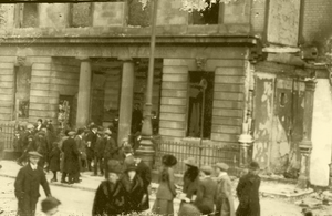 Mass destruction: The GPO in Dublin was the centre of the Easter Rising in 1916