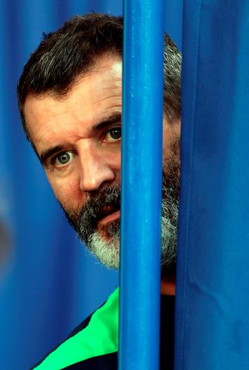 Over here: Republic assistant boss Roy Keane is looking back to the days of Jack Charlton for inspiration