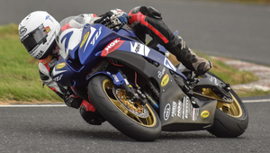 Good to be back: Davy Haire will be back on his bike this weekend chasing success at Bishopscourt in the Sunflower Trophy races