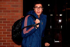 SUNDERLAND, ENGLAND - DECEMBER 30:  Costel Pantilimon of Sunderland arrives for the Barclays Premier League match between Sunderland and Liverpool at Stadium of Light on December 30, 2015 in Sunderland, England.  (Photo by Stu Forster/Getty Images)