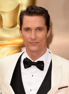 Actor Matthew McConaughey attends the Oscars held at Hollywood & Highland Center on March 2, 2014 in Hollywood, California.  (Photo by Jason Merritt/Getty Images)